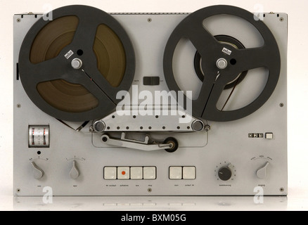 technics, tape recorder, Braun TG 60, Germany, 1964, tape recorders, technics, historic, historical, 1960s, 60s, - Stock Photo