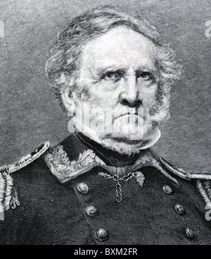 WINFIELD SCOTT (1786-1866)  US Army general - Stock Photo