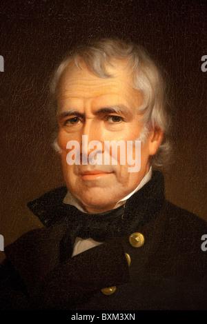 12th President Zachary Taylor, by James Reid Lambdin, 1848