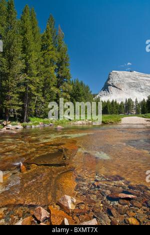 Tuolomne River, Yosemite National Park - Stock Photo