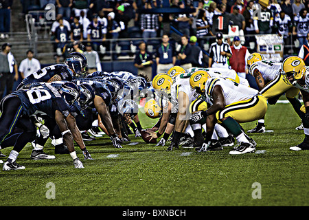 Nfl football game line up