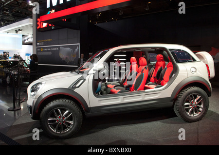 2010 Mini Beachcomber Concept Car Without Doors And Roof Stock Photo