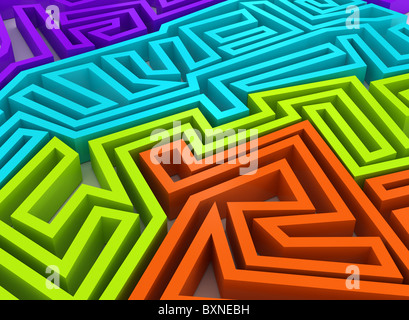 3d abstract background. - Stock Photo