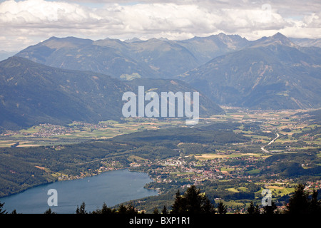 View on the Lake Millstatt, Austria - Stock Photo
