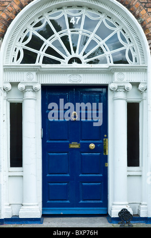 Ornate Brass Letterbox And Door Knocker Stock Photo