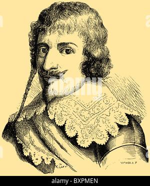 Christian IV (1577 – 1648), king of Denmark-Norway - Stock Photo
