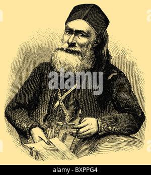 Muhammad Ali Pasha al-Mas'ud ibn Agha (1769 – 1849), Wali, and Khedive of Egypt and Sudan - Stock Photo