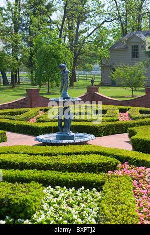 Headley-Whitney Museum, Mary-lou Whitney gardens, Kentucky Stock ...