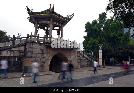 China, Guangxi Province, Yangshuo. - Stock Photo