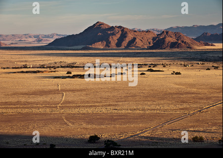 The community of Sesriem, gateway to Namib Naukluft Park and Sossusvlei in Namibia.