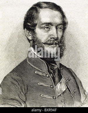 Lajos Kossuth (1802-1894). Hungarian politician. - Stock Photo