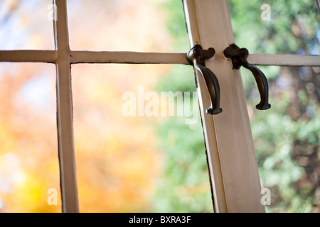 antique window - Stock Photo