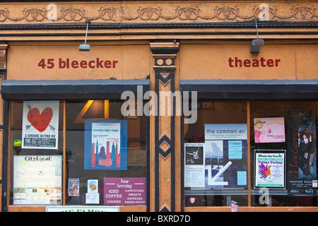 Bleecker Street Theater Company, 45 Bleecker, Manhattan, New York City - Stock Photo