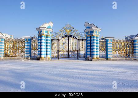 Golden gate, Catherine palace, Pushkin (Tsarskoe selo ...