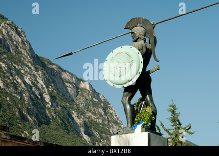 Thermopylae and leonidas politics