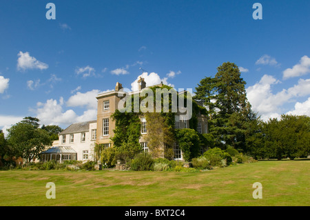 The Grade II listed eighteenth-century manor house at Northbrook Park near Farnham, Surrey, England - Stock Photo