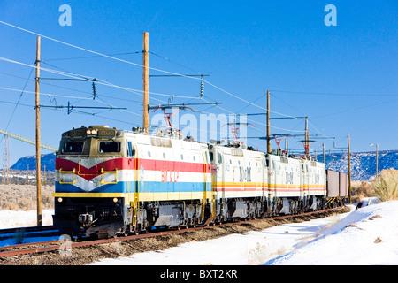 electric train, Arizona, USA - Stock Photo