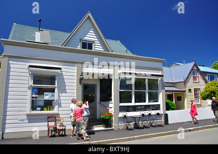 The Little Bistro Restaurant, Rue Lavaud, Akaroa, Banks Peninsula, Canterbury, New Zealand