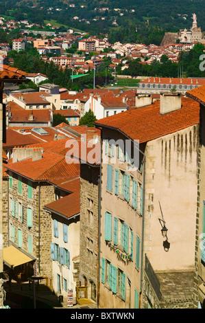 Le Puy En Velay, Haute Loire, Auvergne, France - Stock Photo