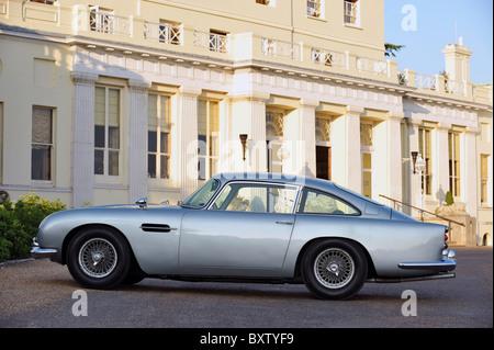 1964 jame's bond 007 Goldfinger  Aston martin DB5 - Stock Photo
