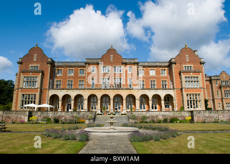 View of Easthampstead Park, a popular wedding and conference venue in Wokingham, Berkshire, UK - Stock Photo