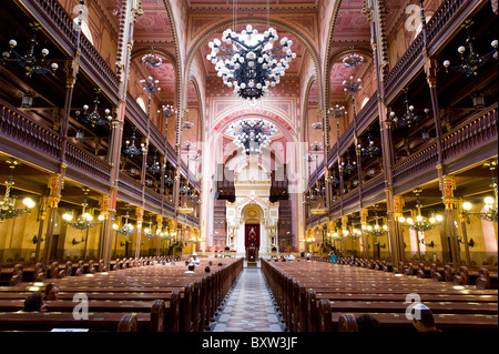 The Great Synagogue, Budapest, Hungary - Stock Photo