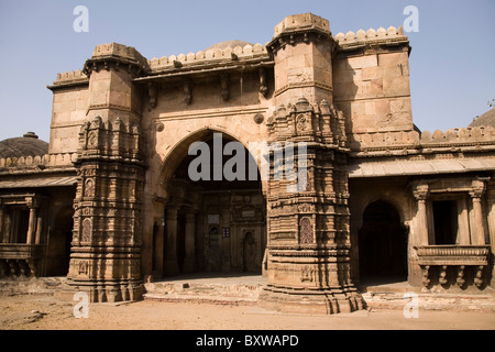 The Bai Harir Mosque at Ahmedabad, Gujarat, India. - Stock Photo