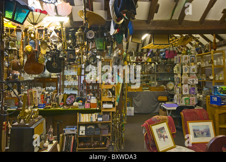 Goods For Sale In An Antique Shop