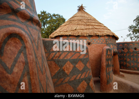Burkina Faso Africa African Huts Beehive Thatched Homes