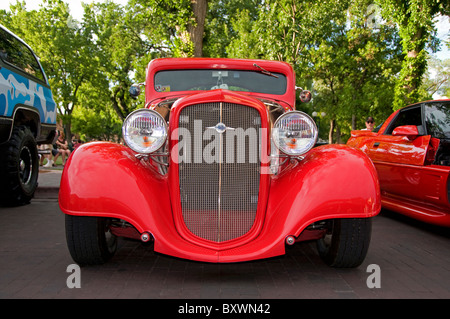 hot rod car - Stock Photo