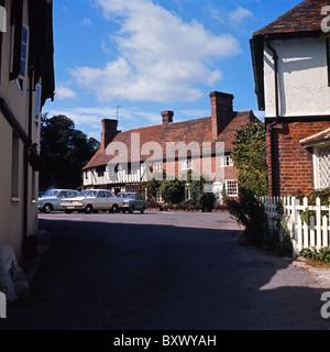 Chilham, Kent, England, 1971 - Stock Photo