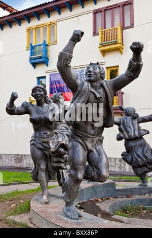 Berikaoba sculpture statue in Tbilisi Georgia. JMH4051 - Stock Photo