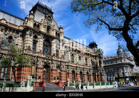 Water Palace (Palacio de las Aguas Corrientes), Buenos Aires, Argentina, South America - Stock Photo