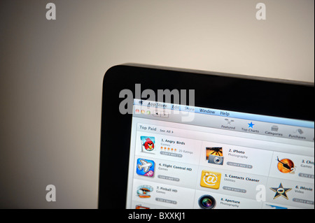 Apple Mac App Store - Stock Photo