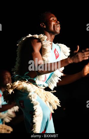 Musicians and dancers at the 12th biannual Salon International de l'Artisanat de Ouagadougou (SIAO) in Burkina Faso.