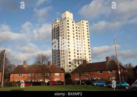 Social housing in Sneinton, Nottingham, England, U.K. - Stock Photo