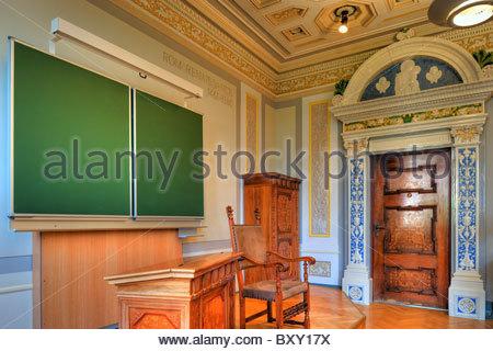 Niederösterreich, Berndorf, Stilklassen in den von Arthur Krupp errichteten Schulen, 1896, Lower Austria, Style - Stock Photo