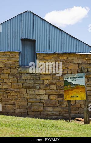 Fort Nottingham, Midlands, KwaZulu Natal, South Africa. - Stock Photo