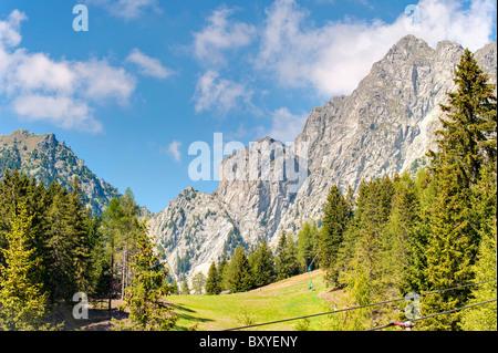 Merano 2000 Trentino Alto Adige South Tyrol Italy - Stock Photo