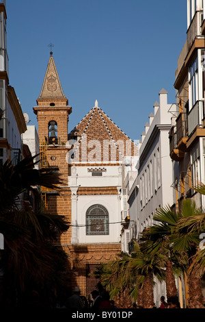 Iglesia de La Palma Cádiz Andalucía España Church of La Palma Cadiz Andalusia Spain - Stock Photo