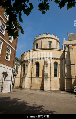 Temple Church in the Inns of Court - Stock Photo