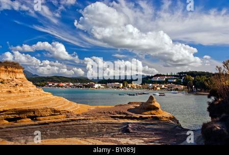 Sidari Corfu, Ionian Islands Greece. - Stock Photo