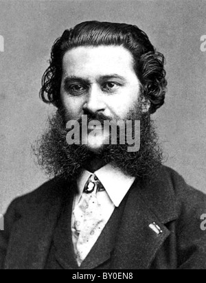 Johann Strauss II, Austrian composer - Stock Photo