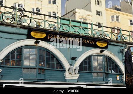 Fortune Of War Pub on Brighton Sea Front