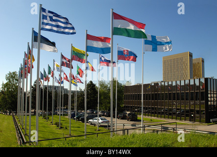 Seat of the European Commission, Luxembourg, Luxembourg - Stock Photo
