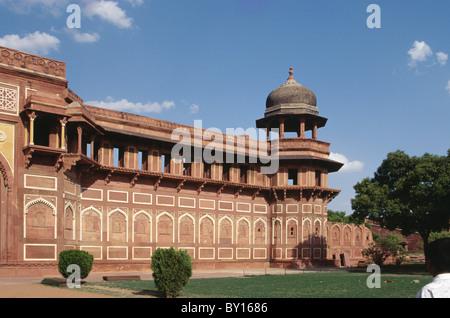 Fort, Agra, Utar Pradesh, India - Stock Photo