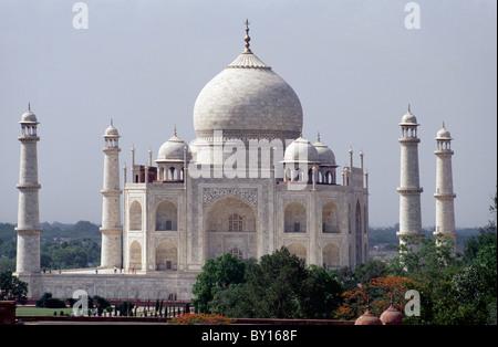 Taja Mahal, Agra, Utar Pradesh, India - Stock Photo