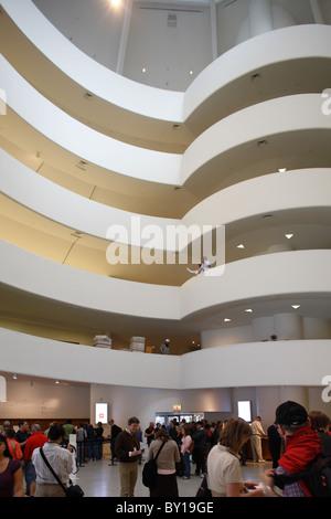 Solomon R. Guggenheim Museum, New York City, United States of America - Stock Photo