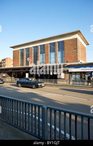 Acton town tube station, Acton town, London, England, UK - Stock Photo