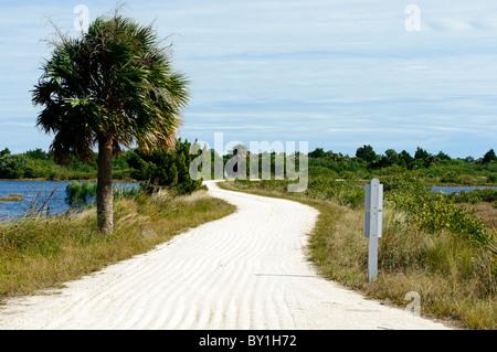 Merritt Island National Wildlife Refuge Titusville, Florida USA - Stock Photo